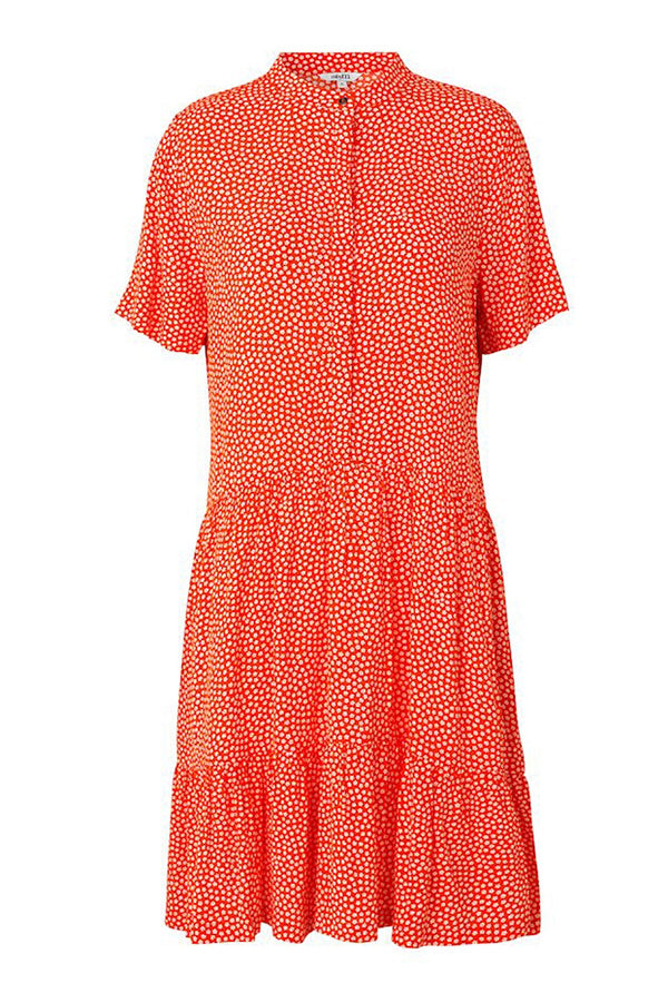 mbyM Lecia dress, orange, front view