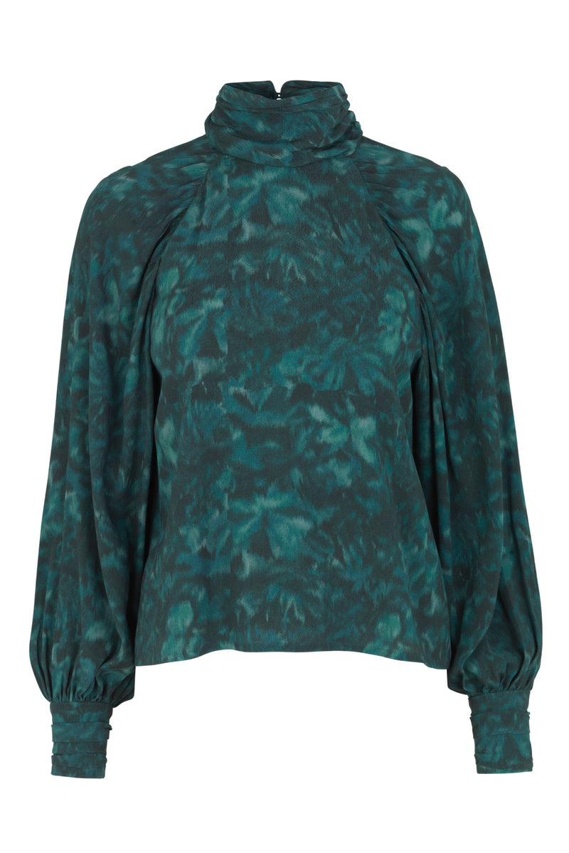 Renett top, Teal