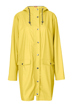 Fabiola coat, yellow