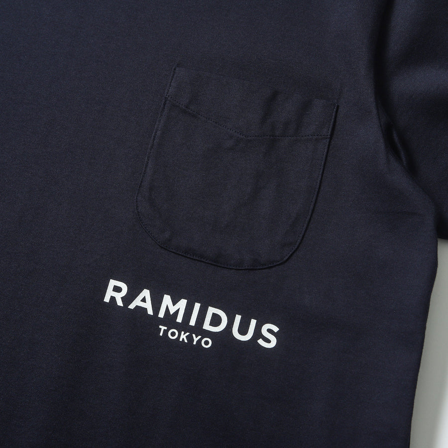 LOGO H/S POCKET TEE
