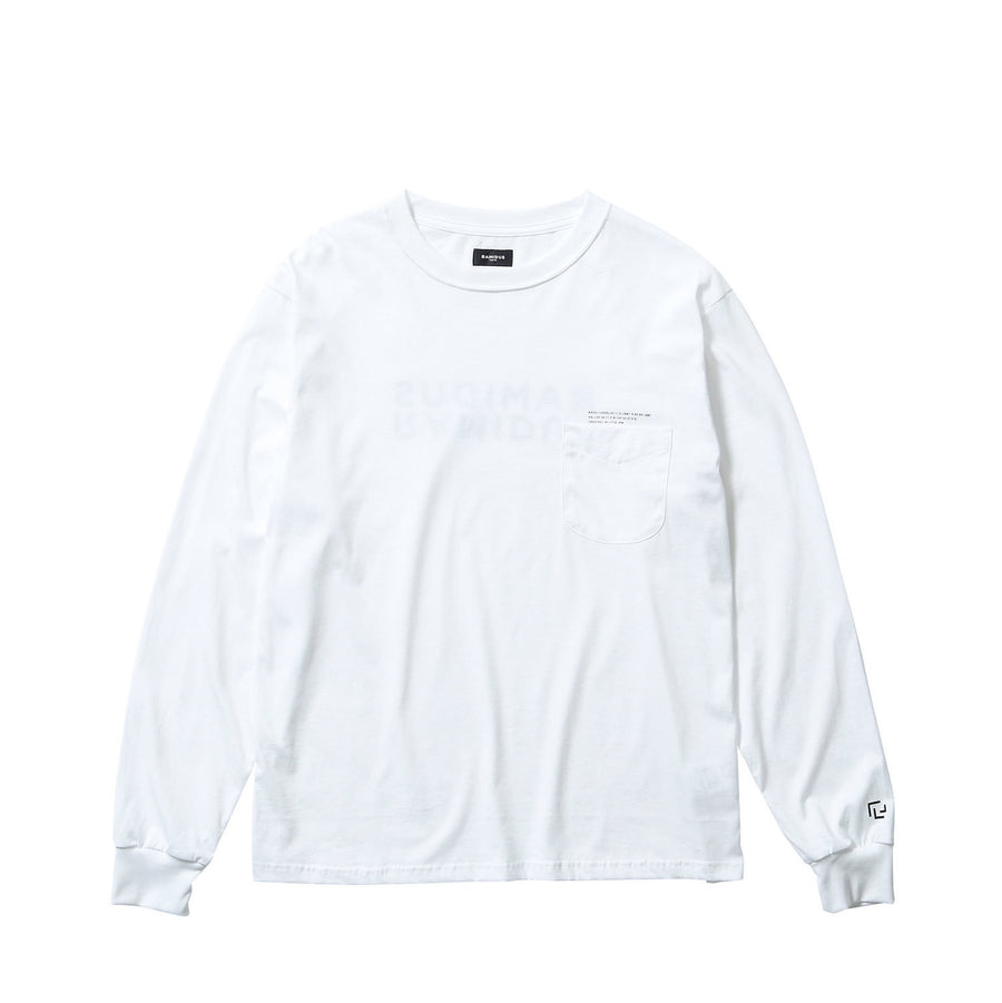 LOGO L/S POCKET TEE