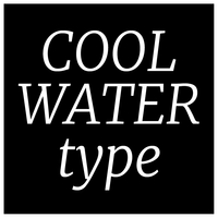 Designer Range - 'Cool Water' type