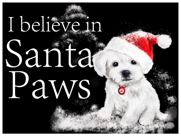 I Believe in Santa Paws - 50 Hour