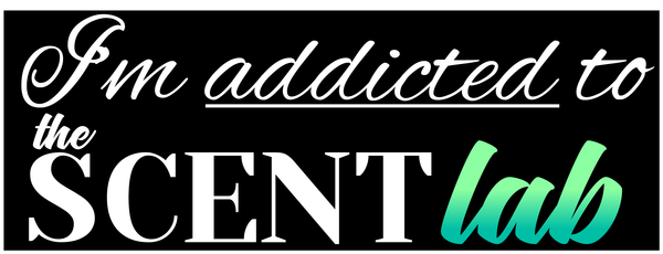 The Scent Lab Addict sticker