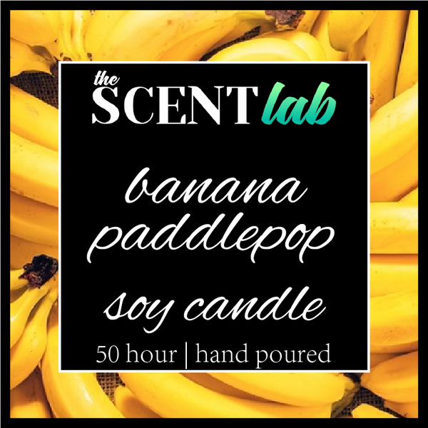 Banana Paddlepop - 50 Hour Candle - Limited Edition