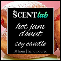 Hot Jam Donut - 50 Hour Candle - Limited Edition