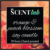 Orange and Peach Blossom - 50 Hour Candle - Limited Edition