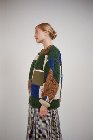 Patchwork Fleece