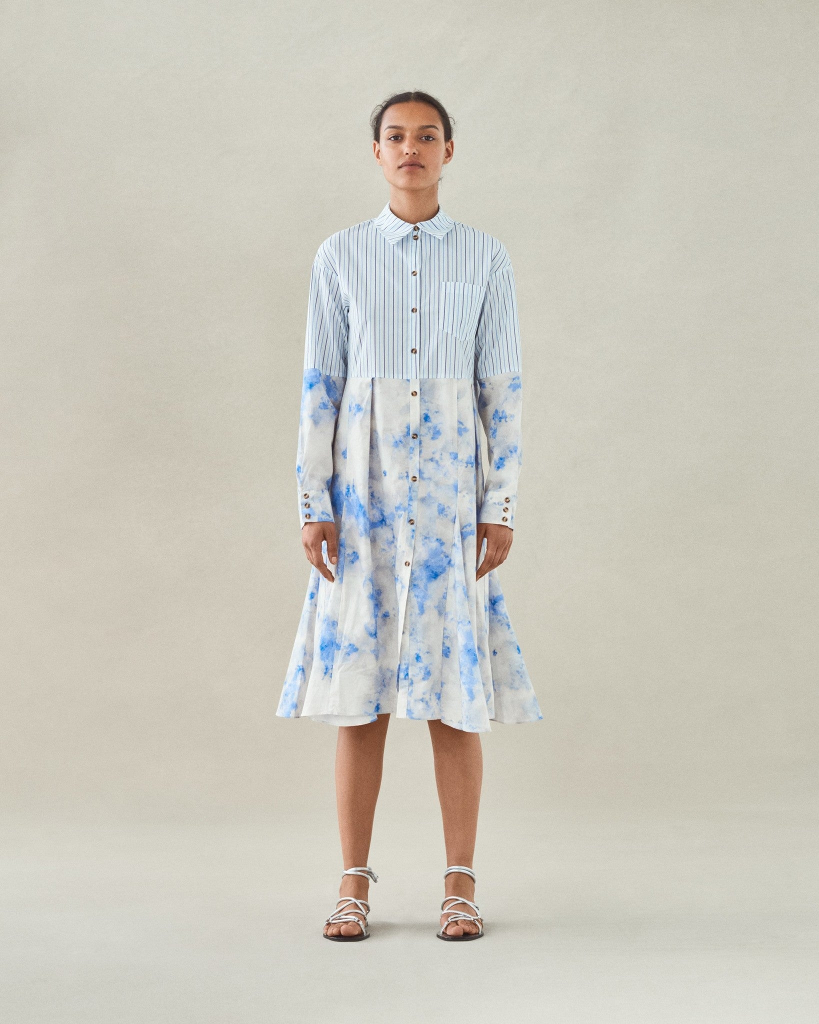 Adelma, Blue Sky Dress,