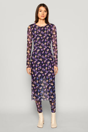 Jolanda Dress, Paris Purple