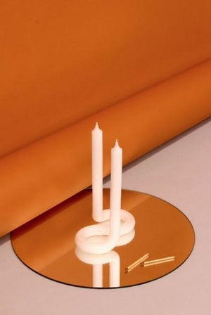 Twist Candle, White