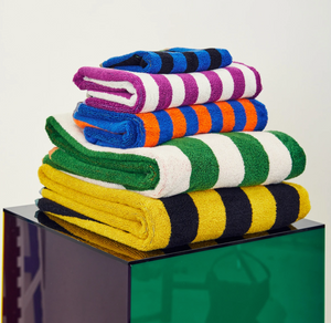 Set of Striped  Towels
