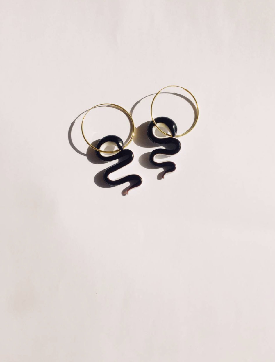 Balance Snake Earrings