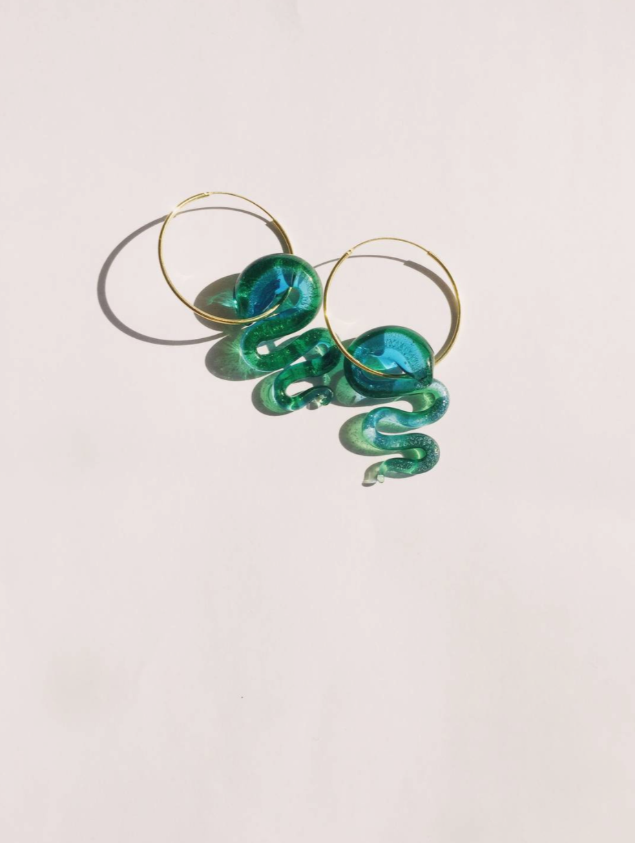 Water Snake Earrings