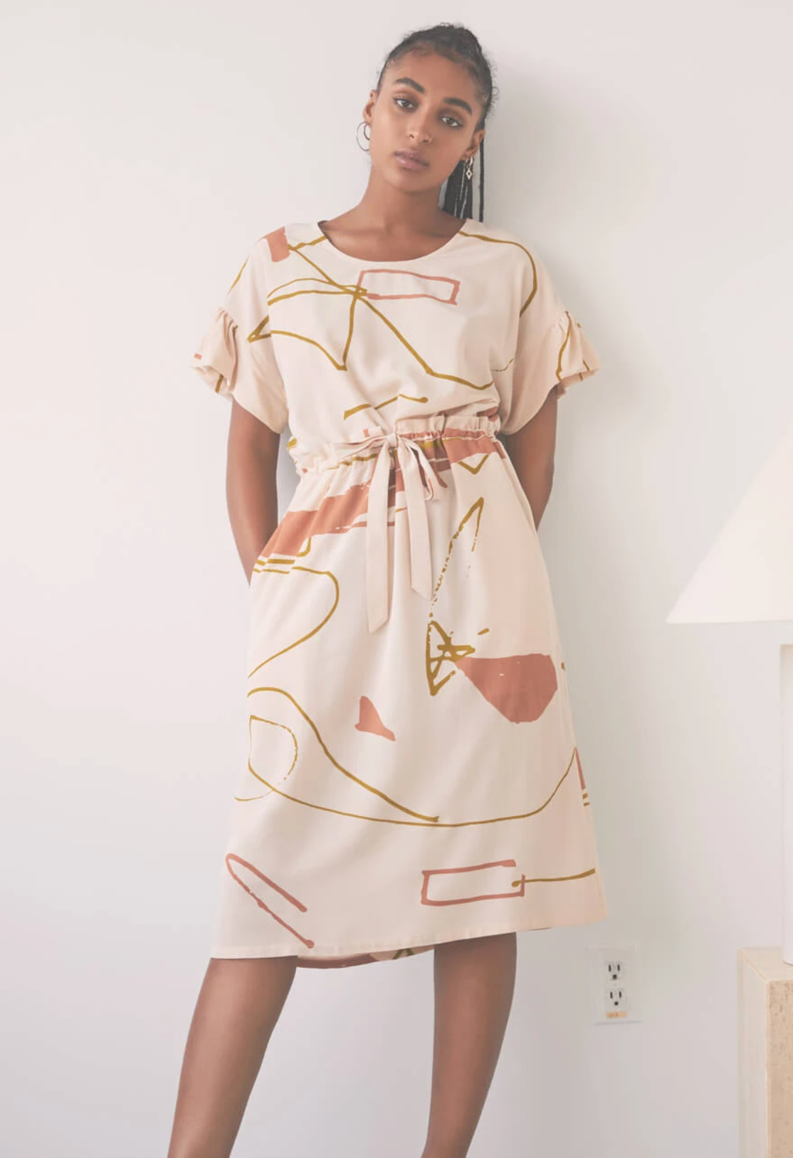 Afternoon Song Dress,  Ugo Cream