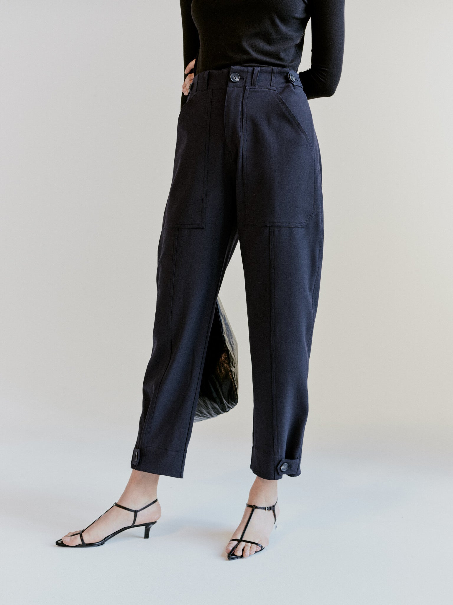 Workwear Trousers, Navy