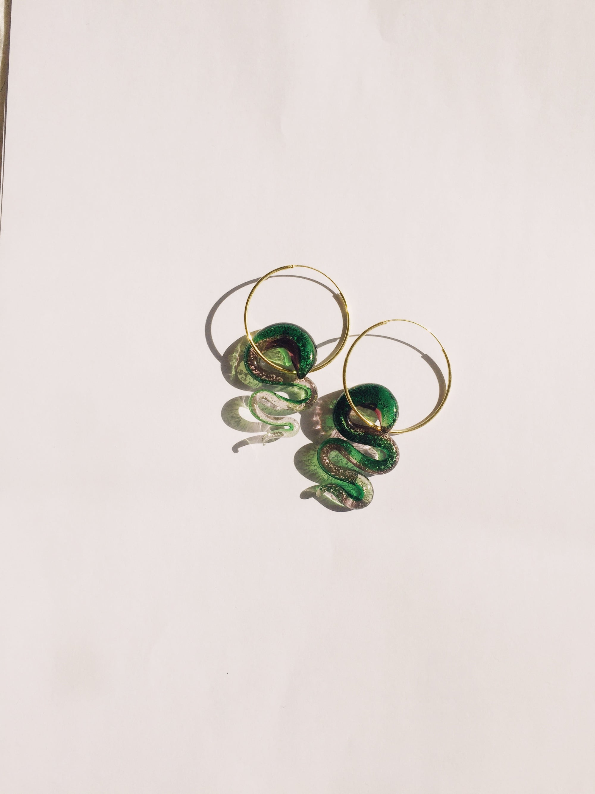 Earth Snake Earrings