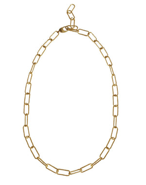 Rosa Chain Necklace 20 ""