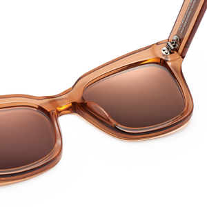 Peach #005 Sunglasses with Mirror Lenses