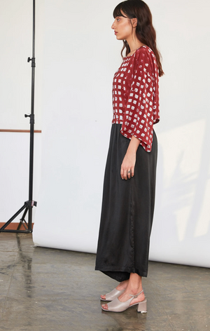 Wide Leg Pants, Black
