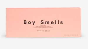 Boy Smells Trio Votive Set (3 × 3oz votives) — Les + Petal + Lanai