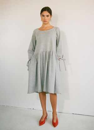 Stay at Home Dress, Grey