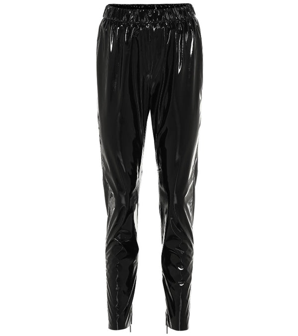 Black Patent Leather Pants