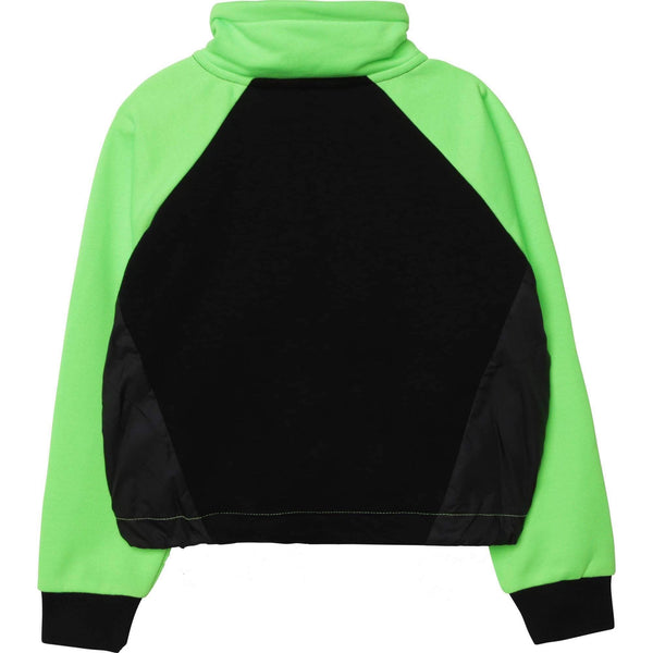 Black and Green Sweatshirt