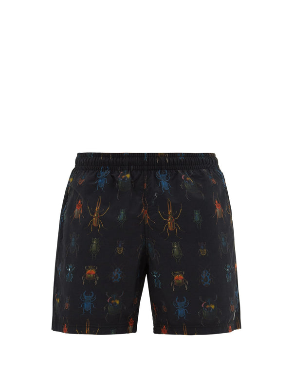 Insect Print Swim Shorts