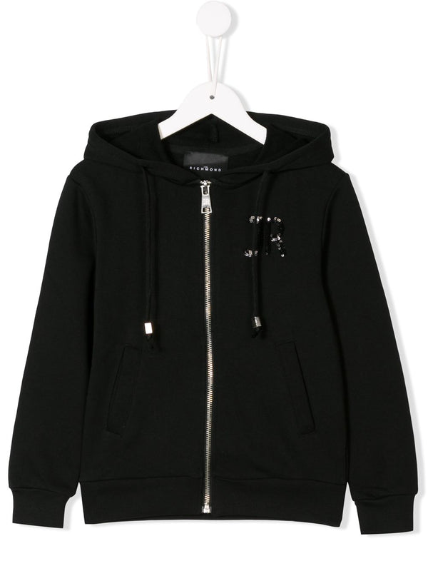 Black Zip Sweatshirt