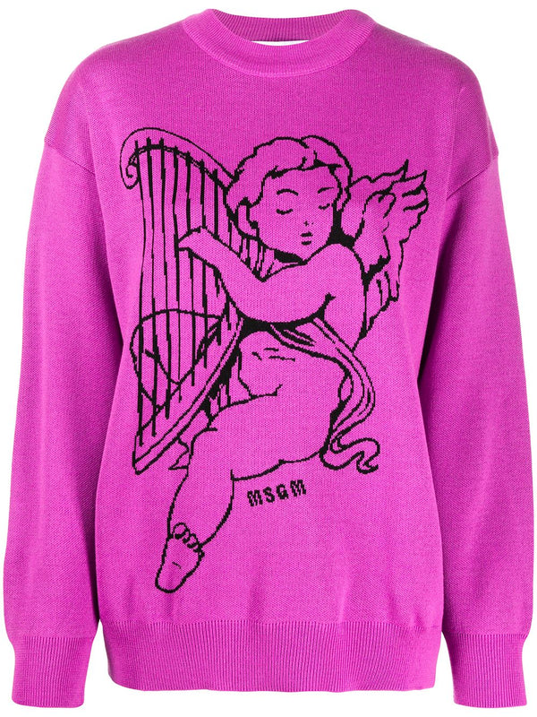 Cherub Crew-Neck Jumper