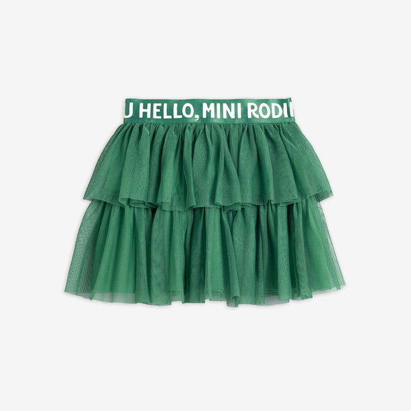 Green Tulle Skirt