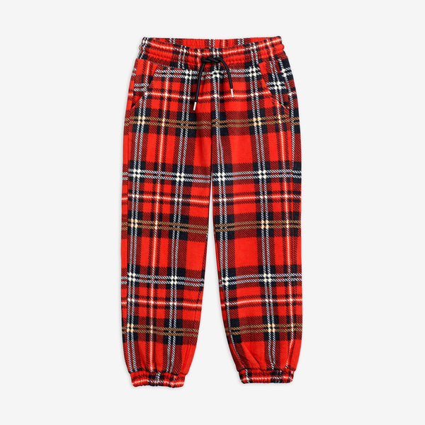 Wool Checked Pants