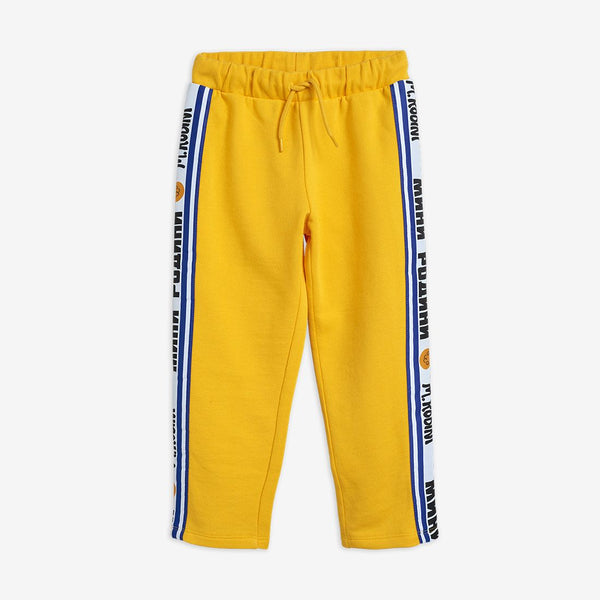 Yellow Print Joggers
