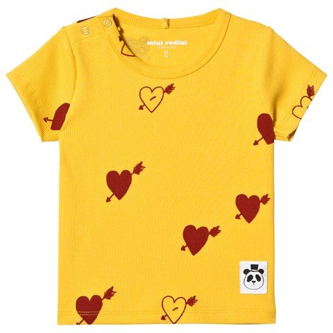 Yellow Print T-Shirt