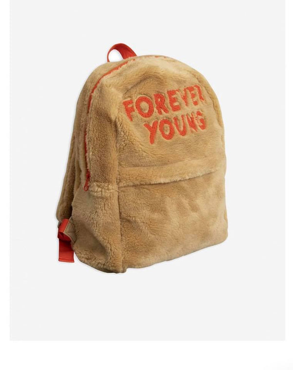 Forever Young Embroidered Backpack