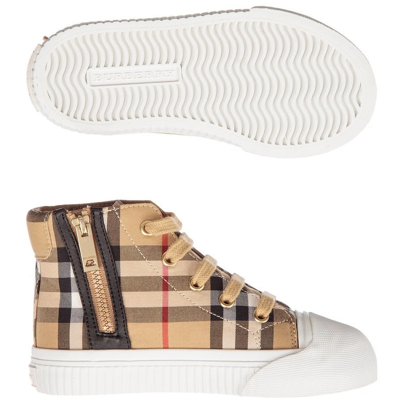 Squared High Sneakers