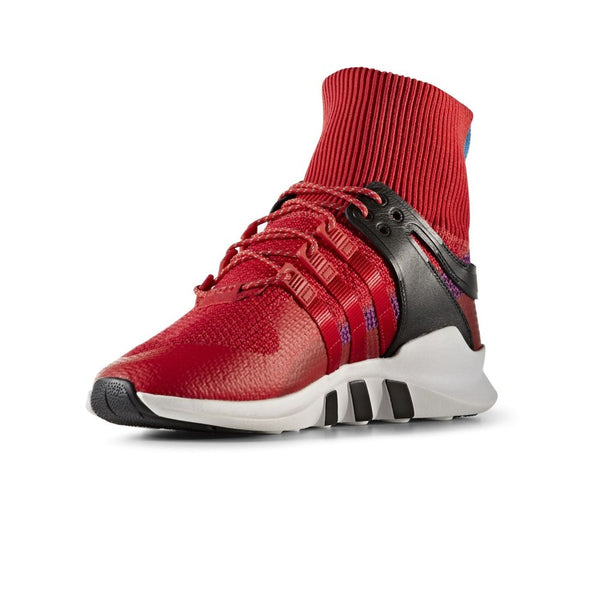 Red High-Sock Sneakers