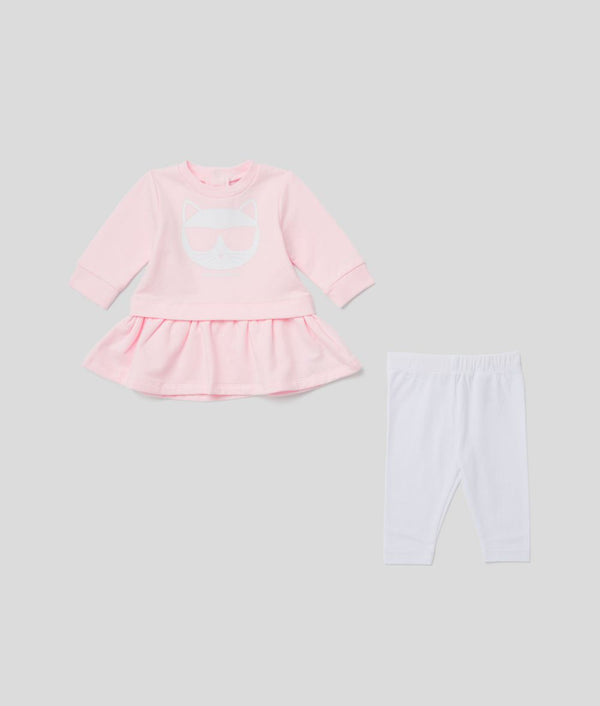 Choupette Dress and Leggings Set