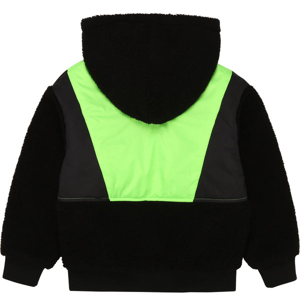 Two-material Hooded Jacket