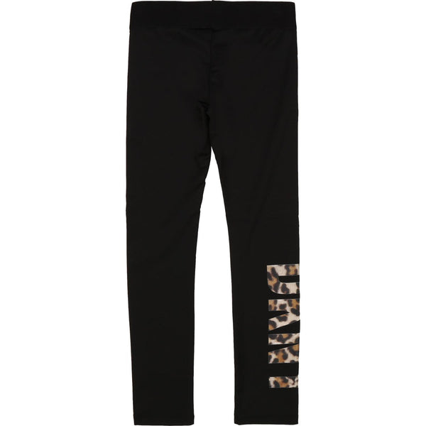 Leopard Logo Leggings