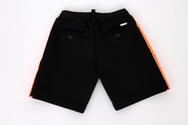 Black Neopren Shorts