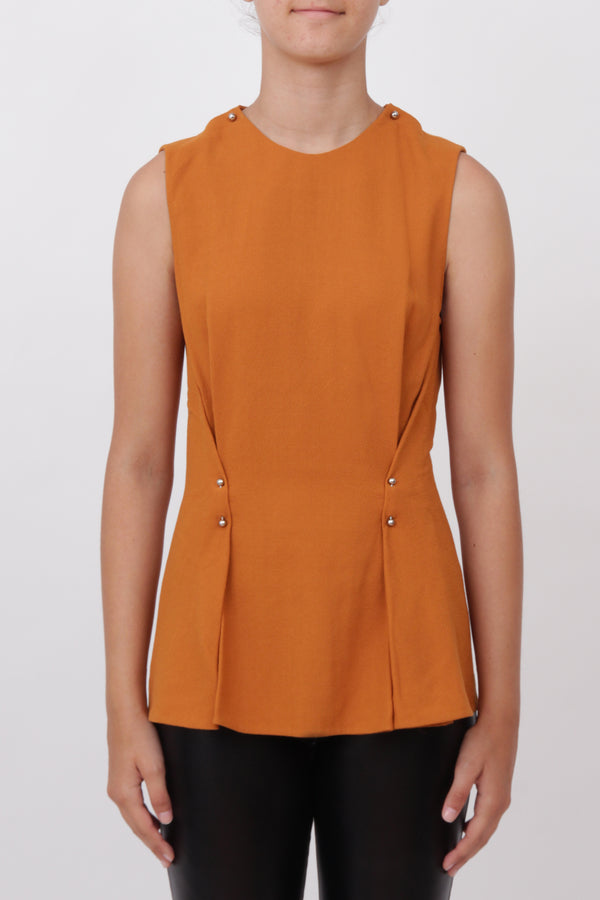 Pins Sleeveless Top