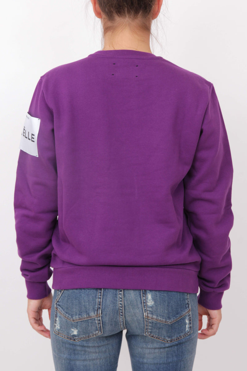 Purple Logo Jumper