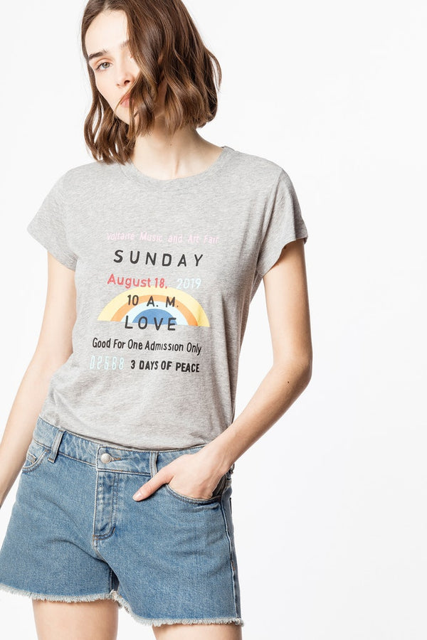 Sunday Print T-Shirt