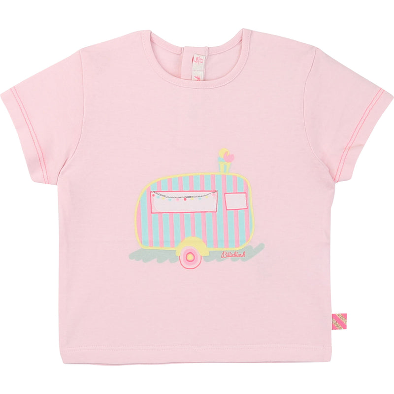 Illustrated Cotton T-shirt