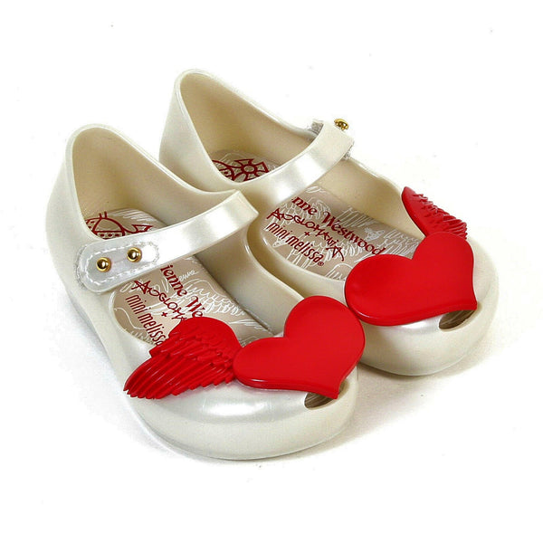Red Flying Heart Shoes