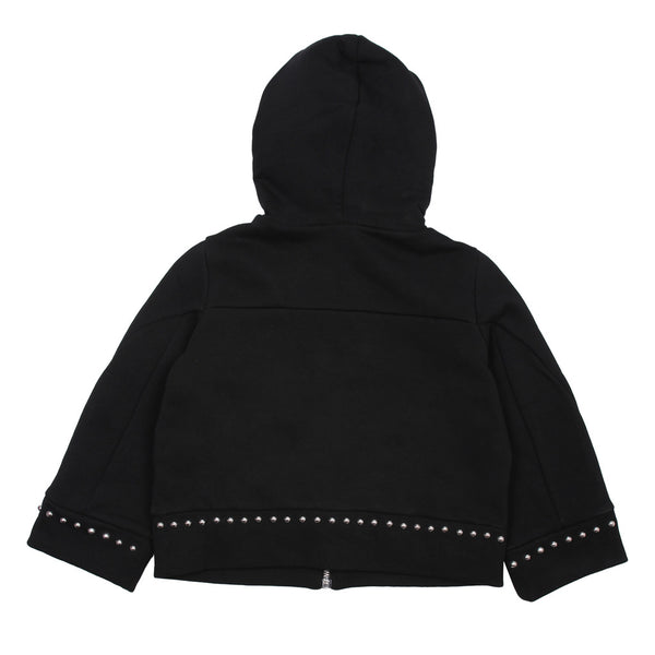 Black Zipped Sweatshirt