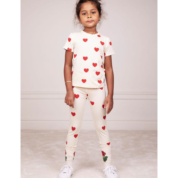 Red Hearts Leggings