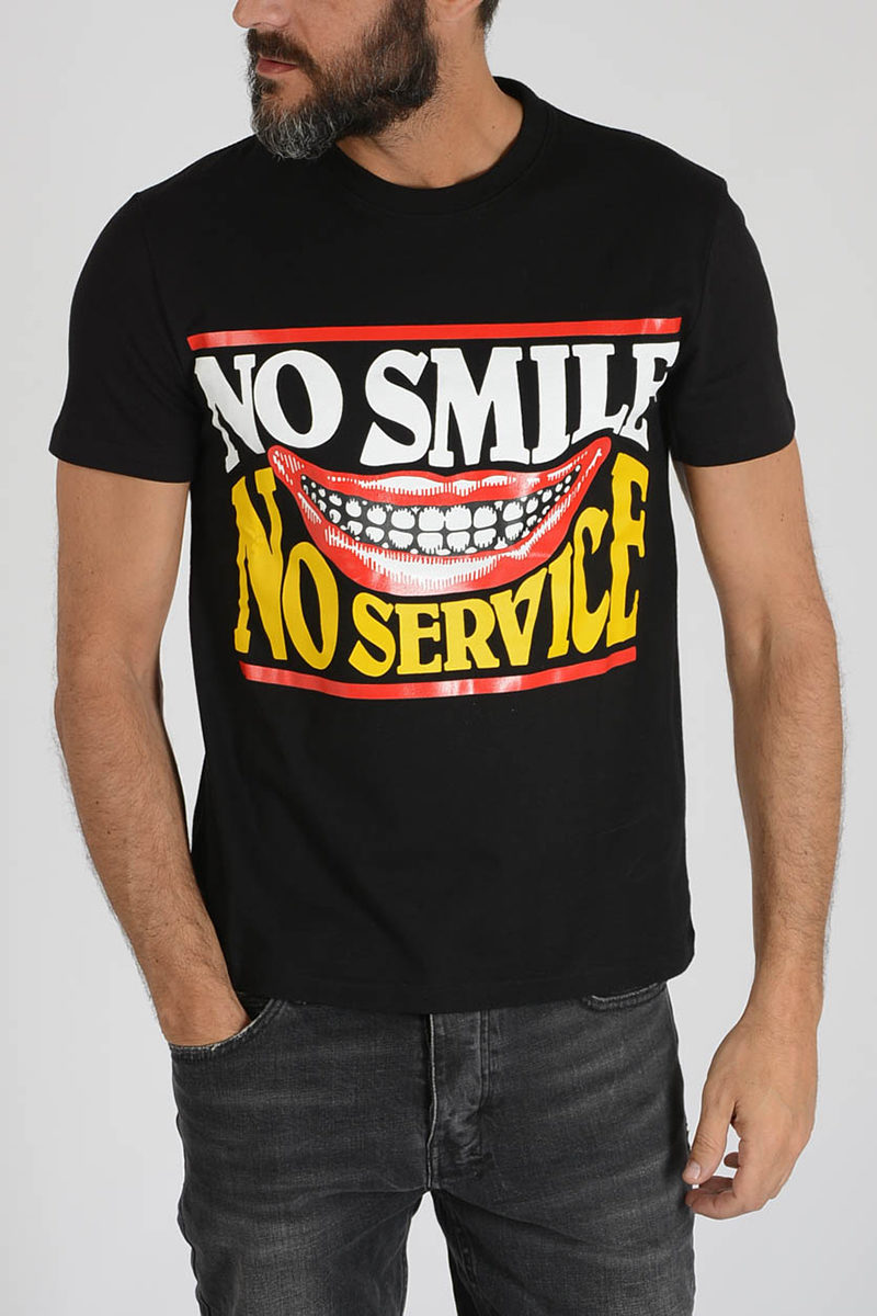 No Smile No Service T-Shirt
